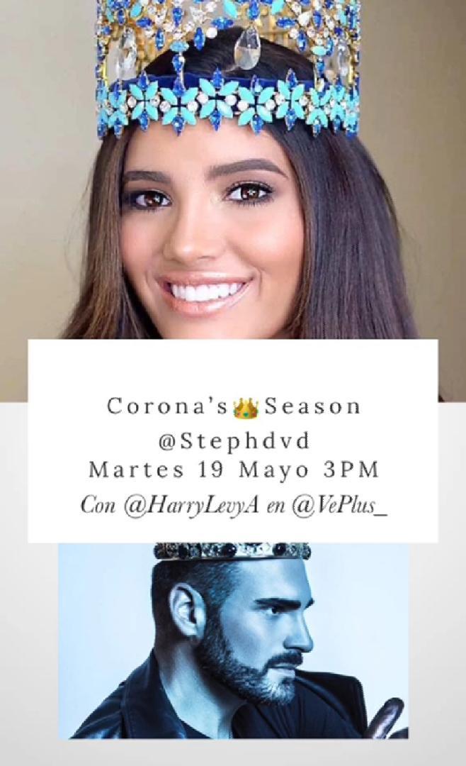 ¡No te lo puedes perder! Hoy a las 3:00 PM por el #Instagram de @VePlus_  👑@stephdvd_  @HarryLevyA  https://t.co/1G7Ez2NuT6 https://t.co/JoRVXhgsOH