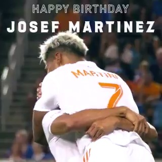 Replying to @GAFollowers: Happy Birthday to the goat and @ATLUTD's very own Josef Martínez, today he turns 27 years young.