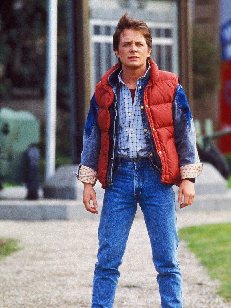 I might be way off on this, but I rewatched Back to the Future last night and all I could think of the entire time is that Tom Holland is just Michael J Fox 30 years in the future