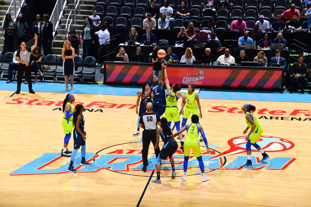 Tonight were taking it back to last May for the 2019 season opener against Dallas. Watch with us at 7 pm on WNBA League Pass! Spoiler alert: its a good one. #WNBARewatch