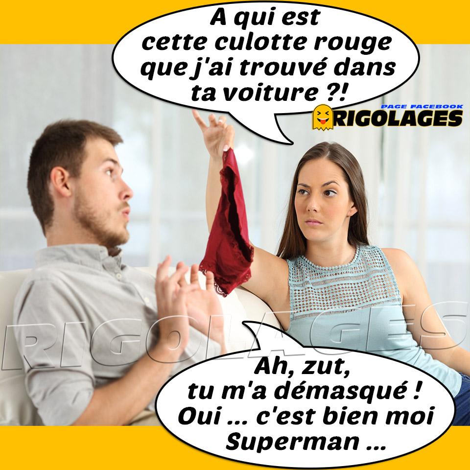 "Rigolages on Twitter: ""#humour #rigolages #couple #infidelite #culottes  #superman… """