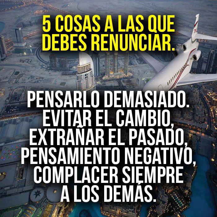 Los 5 #consejos para #triunfar.pic.twitter.com/l8ml43AqoP