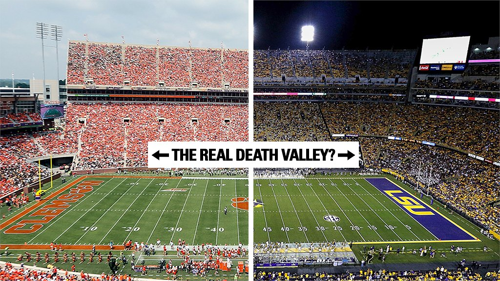 Tell us. Who plays in the 𝙧𝙚𝙖𝙡 Death Valley? https://t.co/fDU7UJL6pt