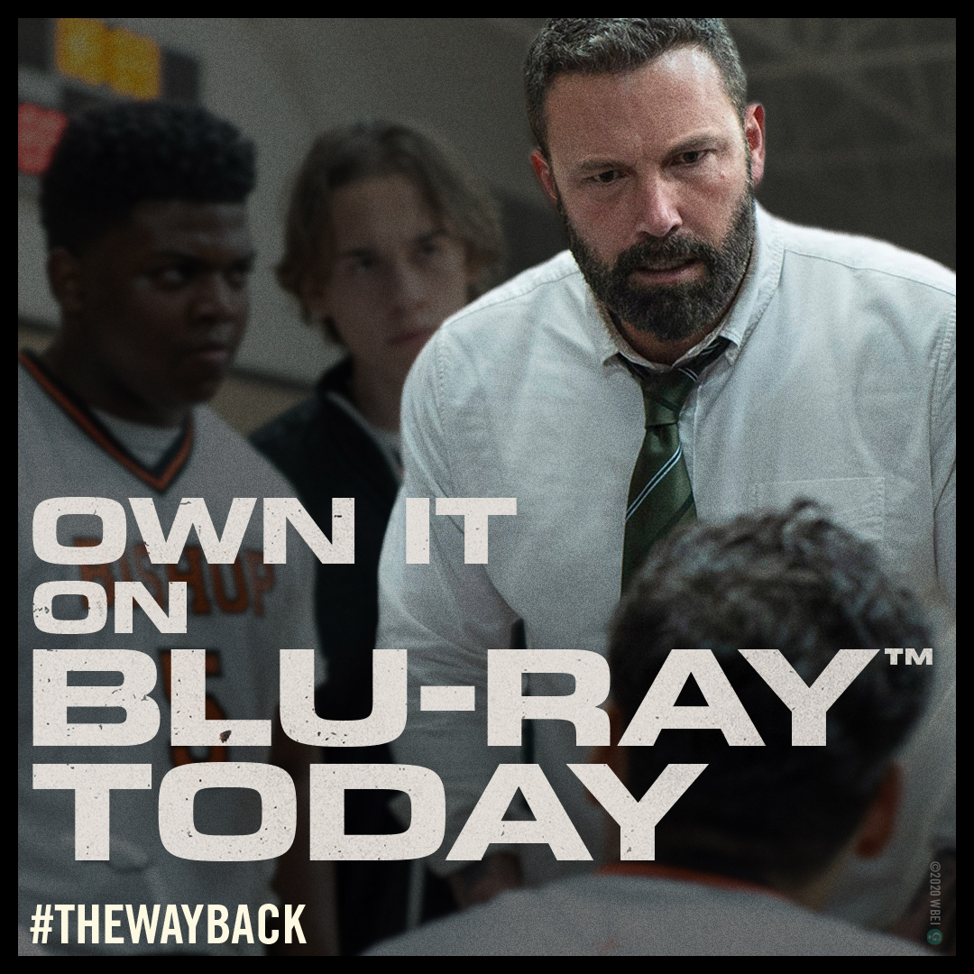 The last shot at redemption 🏀 Catch Academy Award winner Ben Affleck and the powerful story of #TheWayBack on Digital and Blu-ray NOW! https://t.co/B3gaECSybA https://t.co/7WHO1Qlh9n
