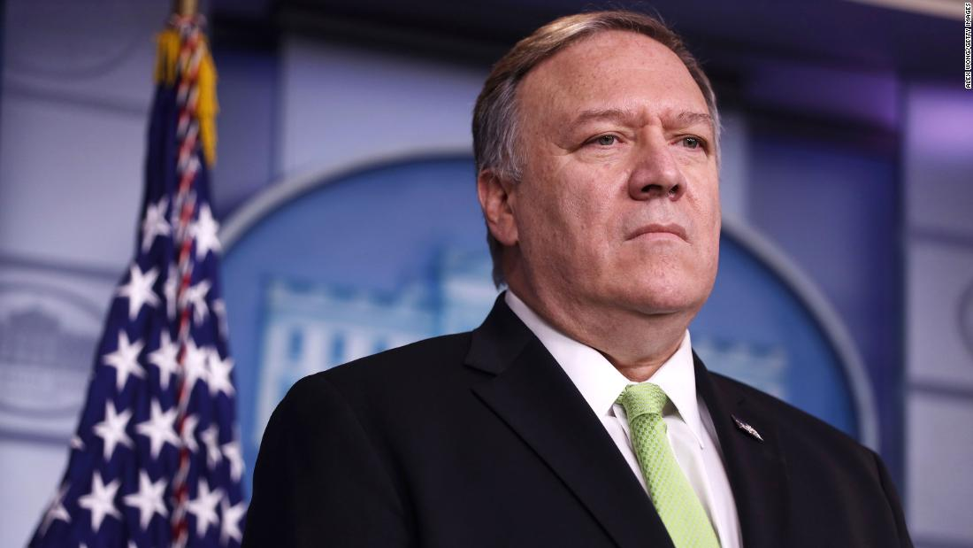 Secretary of State Mike Pompeo says he asked for the inspector general to be fired because he was undermining the State Department cnn.it/2WNViu1