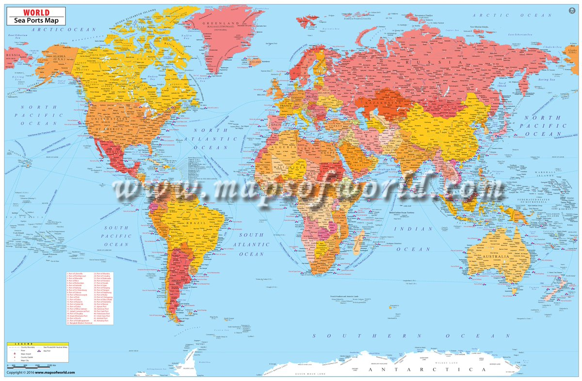 Picture of: Custom Maps On Twitter Custom World Map World Sea Port Map Customized To Showcase All The Major Sea Ports Existing Around The World To Ask For A Quote Reach Us At Https T Co 4al6wyrmho
