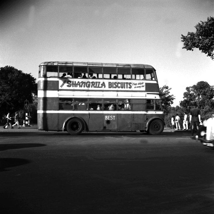 RT @IndiaHistorypic: 1950s :: Double Decker Bus , Bombay https://t.co/wz1UckfKK5