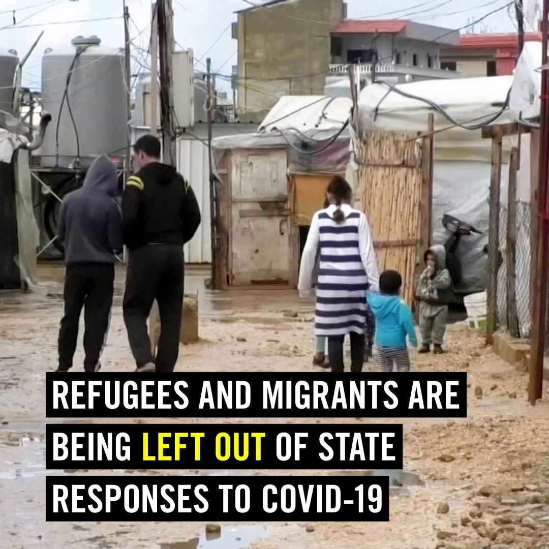 Don't leave anyone behind. Protect refugees & migrants everywhere.