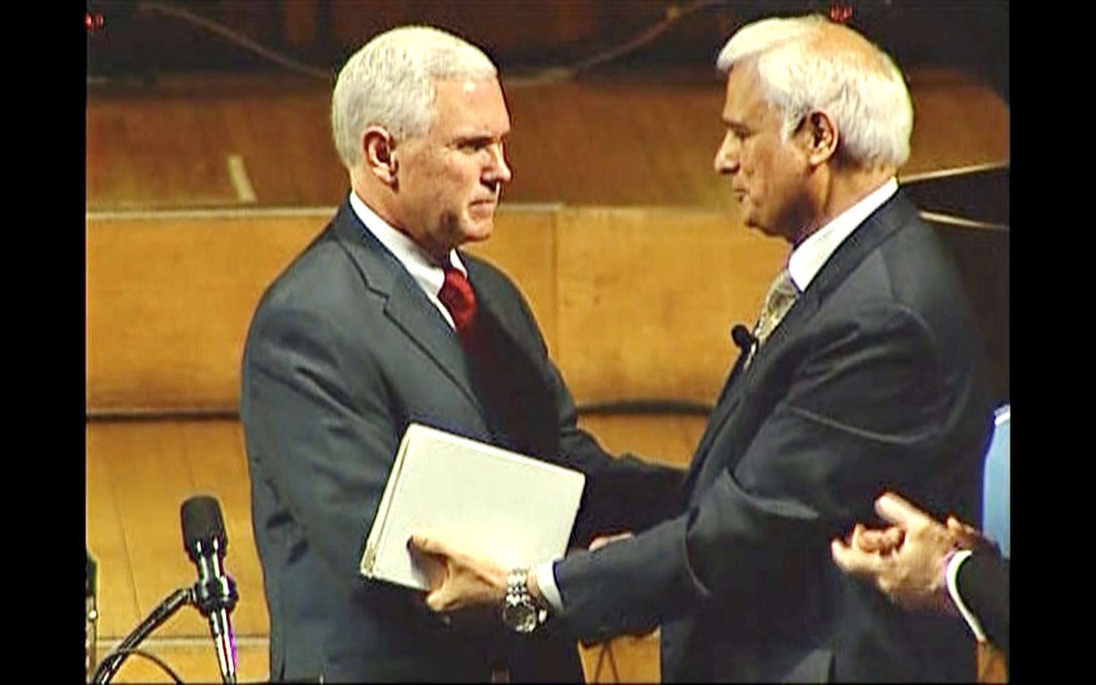 VP Mike Pence and White House Press Secretary Kayleigh McEnany Pay Tribute to Ravi Zacharias After His Death