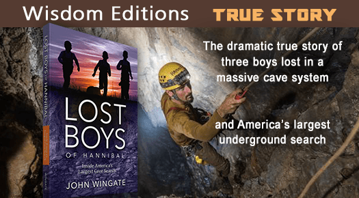 Dramatic true story of three boys lost in a massive case system - LOST BOYS OF HANNIBAL - Explore this book! http://smarturl.it/LOSTtg?IQid=1  pic.twitter.com/ErovAI3zGu (Tweet supplied by Wisdom Editions) (_
