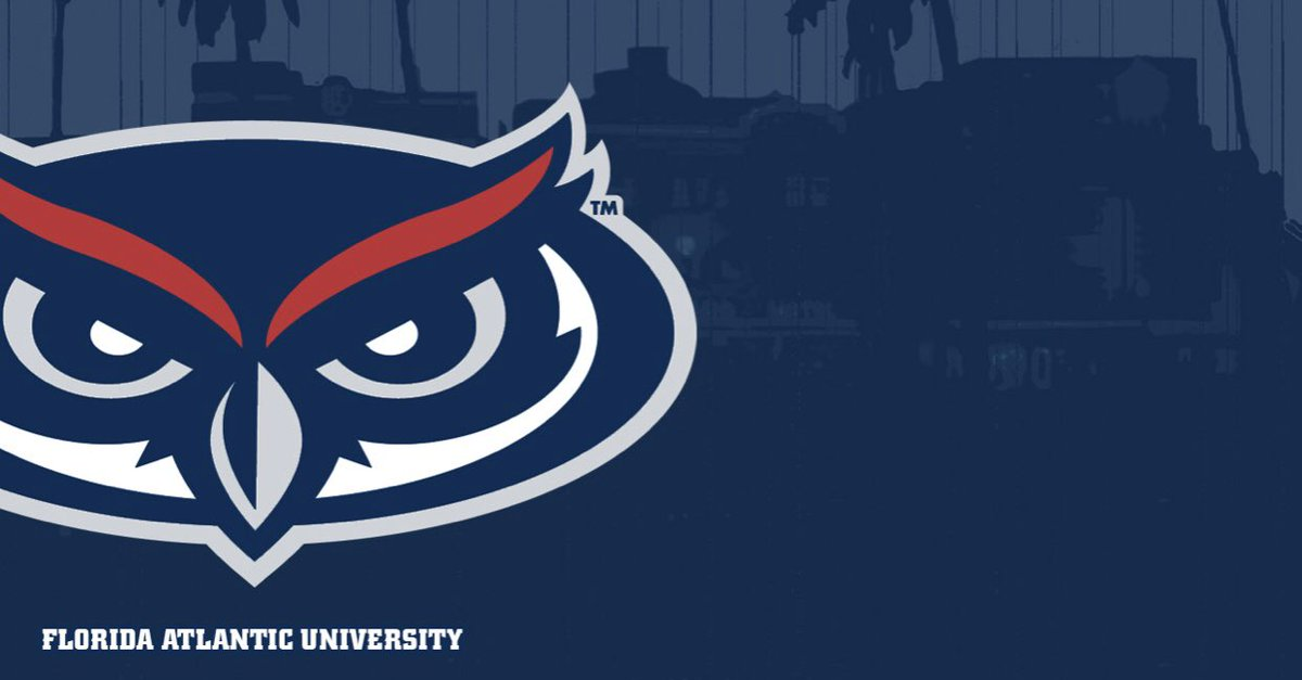 I'm very blessed to receive my first offer from Florida Atlantic University❤️💙@Coach_Grage @RecruitGeorgia @Mansell247 @JeffNorrid1