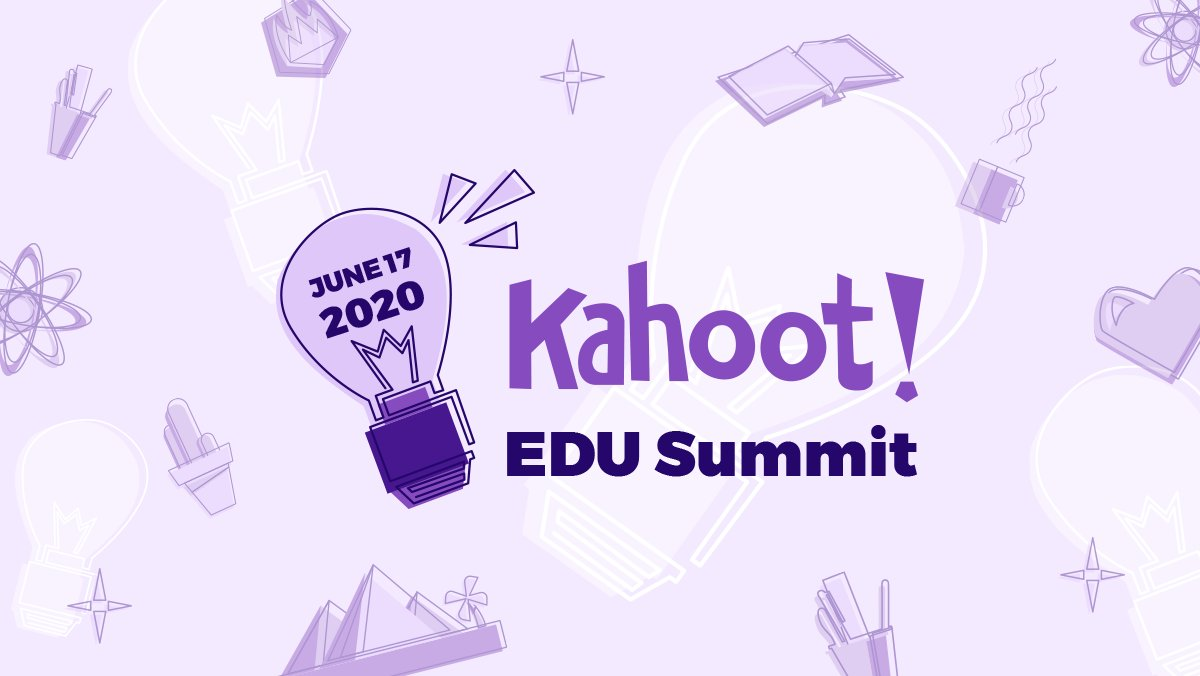 🙌 Register for the first ever virtual Kahoot! EDU Summit ⛰ on June 17! 👏 Get a sneak peek at upcoming features and hear from Kahoot! Ambassadors and partners👇 bit.ly/3dU9N59