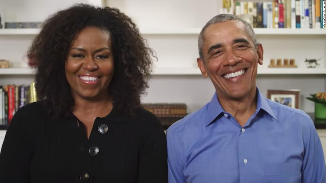 Barack Obama joined Michelle Obamas story time series to read a childrens book cnn.it/2TggWVx