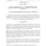 Image for the Tweet beginning: Decretada calamidad pública por desabastecimiento