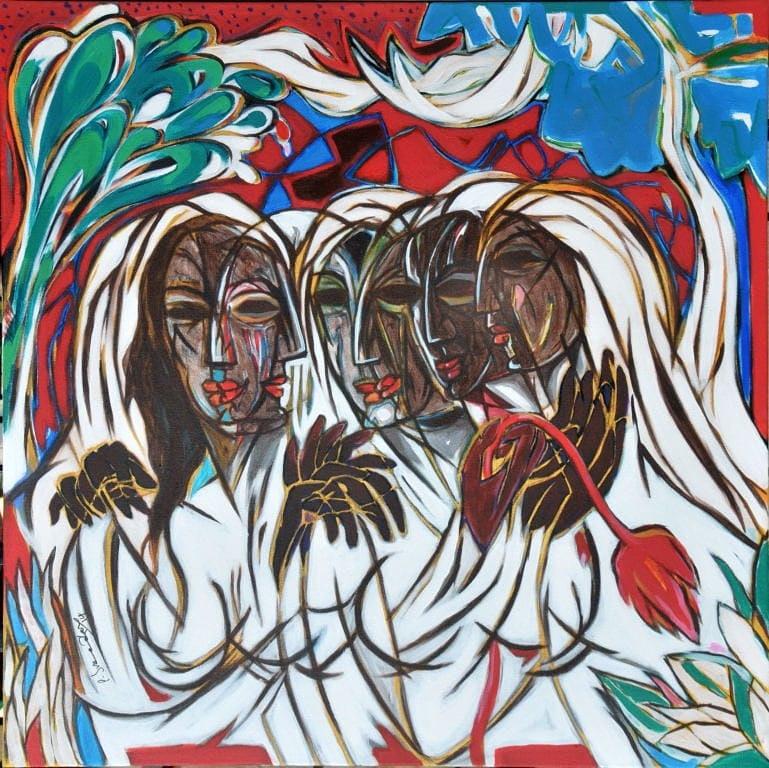 Rythem of Life 48x48 Inches Acrylic on Canvas Lot_DA351 http://www.ddivineart.com  Inquiry- divineartcollection@gmail.com  #da #divineartgallery #face #artforsale #beautifulface #nyc #hongkong #delhi #thebroadmuseum #mumbai #shchukincollection  #artlovers #artauction #artshowpic.twitter.com/5hCcSMshA8