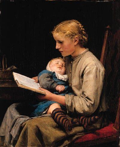 Albert Anker (1831-1910). Swiss painter. #art #arte #painting #pintura #readingpic.twitter.com/4bt1Sht4K3