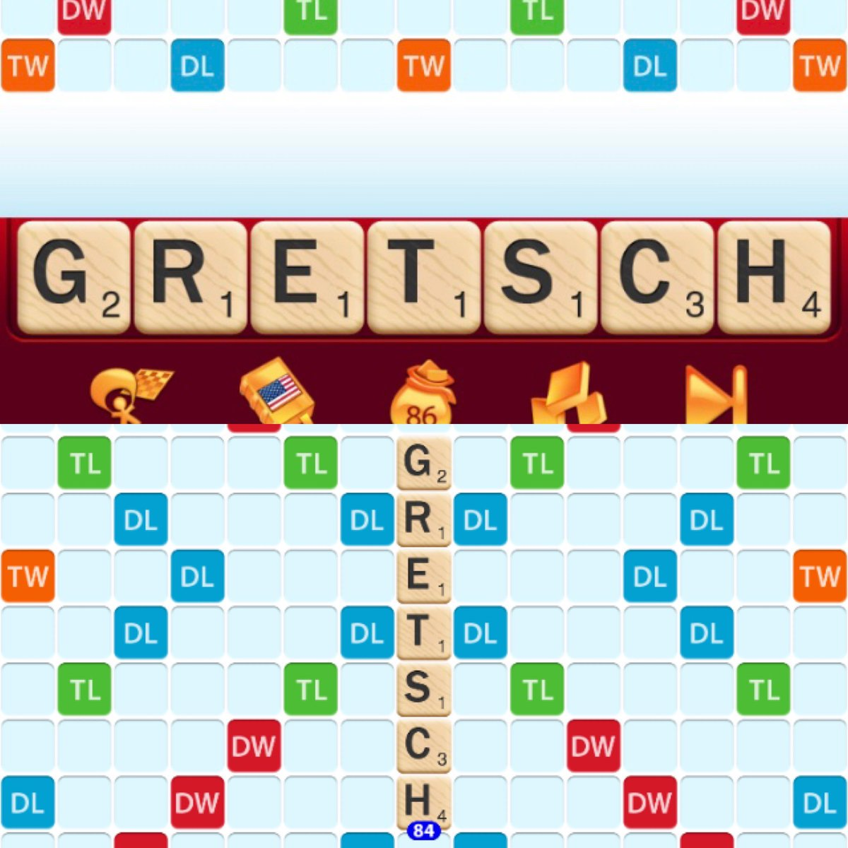 I play Scrabble on my laptop everyday to stay sharp. What are the odds that it selected these 7 letters? Do you think it's a sign?  #guitar #guitarplayer #rocknroll #music #scrabble #sign #music #destiny #rockismylife #singer #songwriter #musician #gretschpic.twitter.com/T5gxTx3kJX