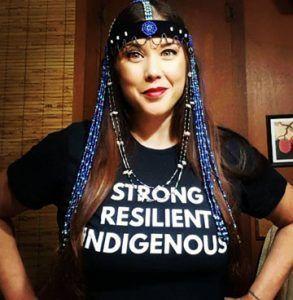 Not your costume! #NativeTwitter #NotYourCostume #NotYourMascot #racism #AlaskaNative #FirstNations #NativeAmerican https://buff.ly/2MvXDVmpic.twitter.com/ZtIf0DajAp
