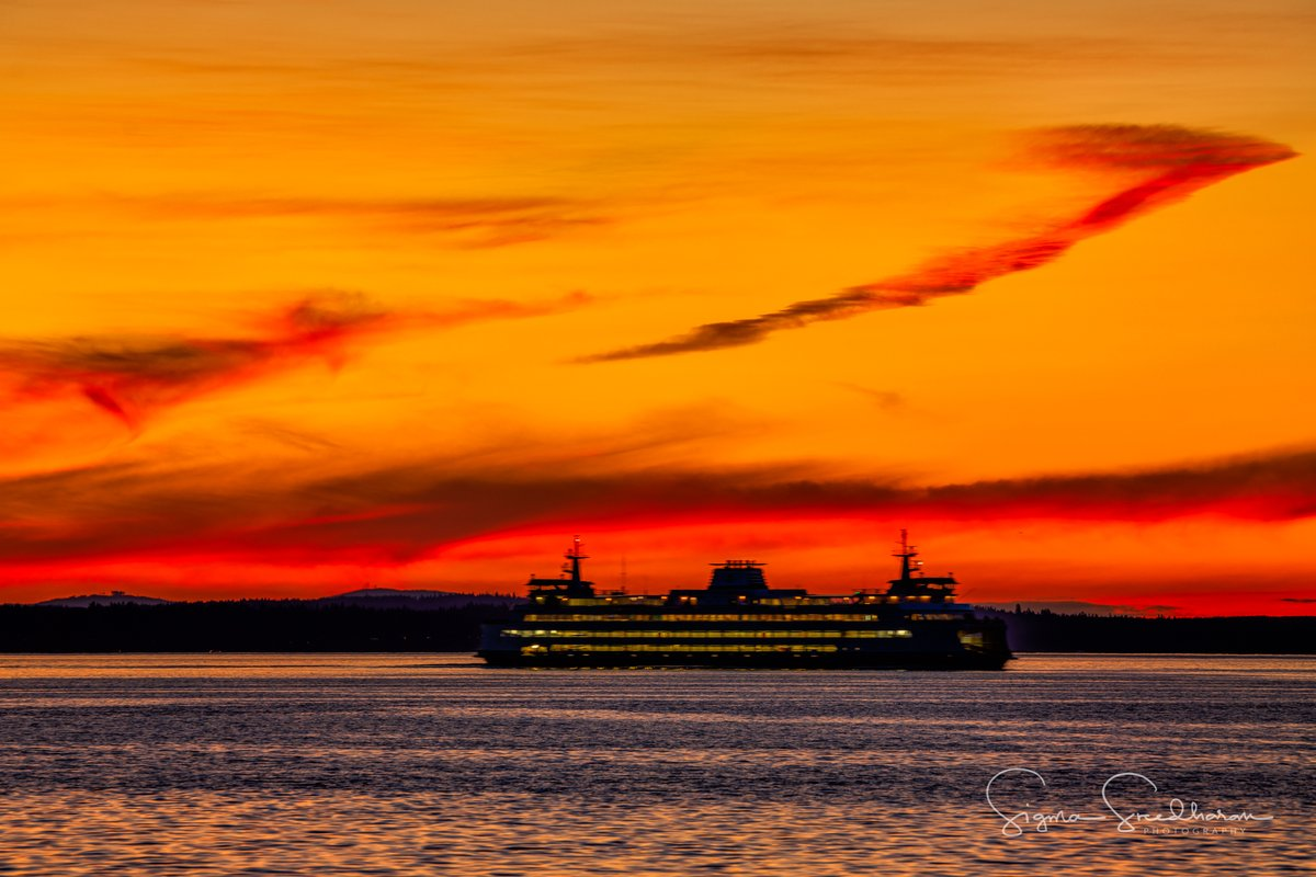 Tonight's #Seattle #Sunset colors were gorgeous! pic.twitter.com/uY74GEBv9R