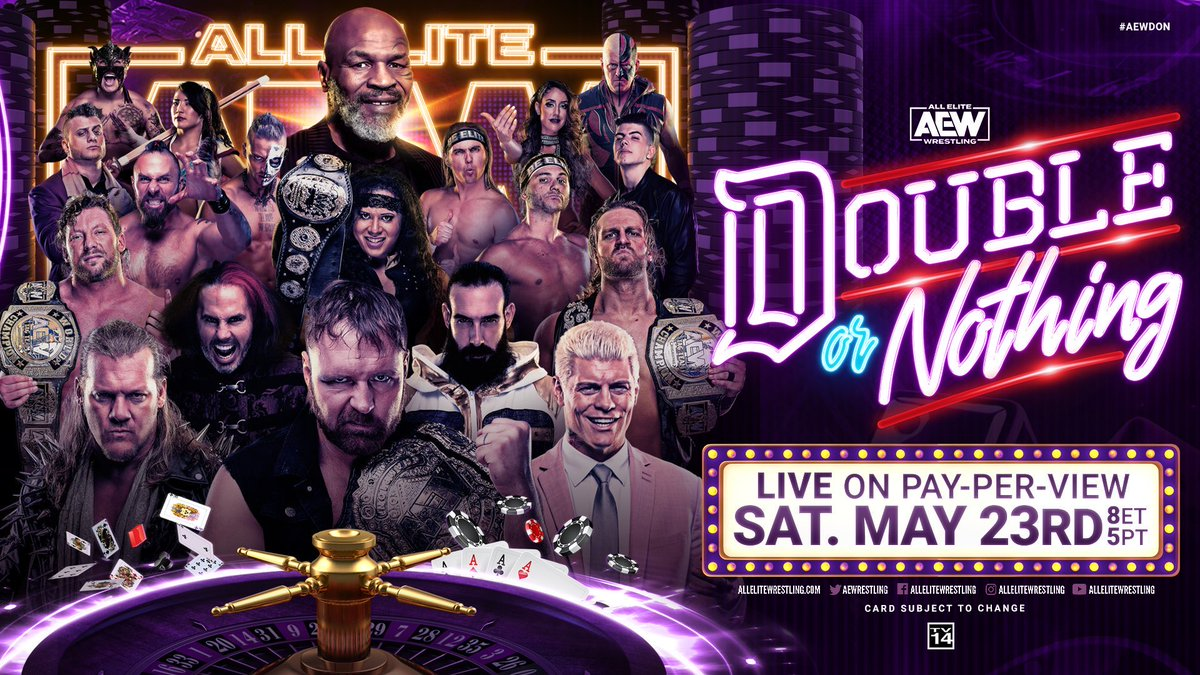 Countdown to AEW Double or Nothing draws nearly 350k viewers dlvr.it/RXQ6fT