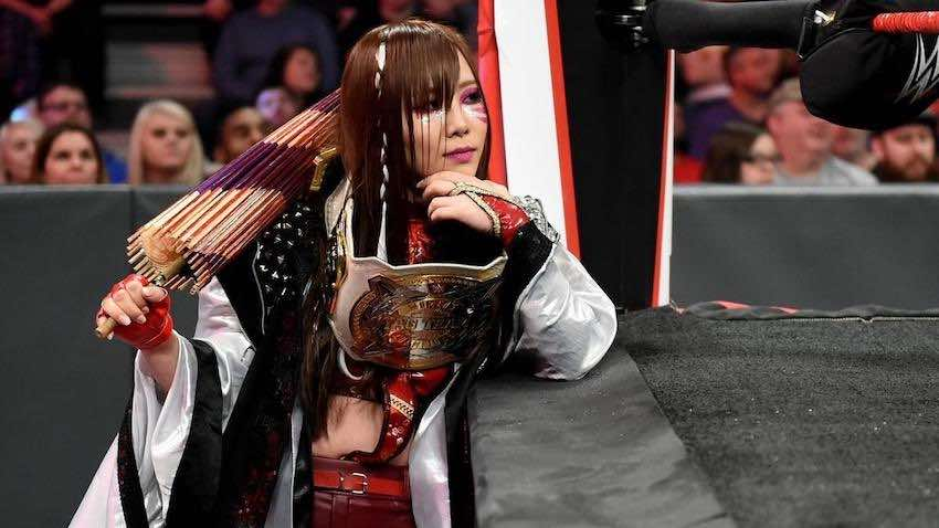 Kairi Sane suffers cut to head during match at WWE Raw tapings dlvr.it/RXQ6ds