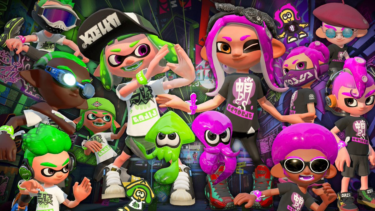 It's Tuesday and you know what that means...it's #SplaTuesday and time for more squid kid fun with all of YOU! <3  We were on a roll with #TeamKetchup and became the victors - will our luck hold today?  We're LIVE with #Splatoon2 right NOW on #Twitch !