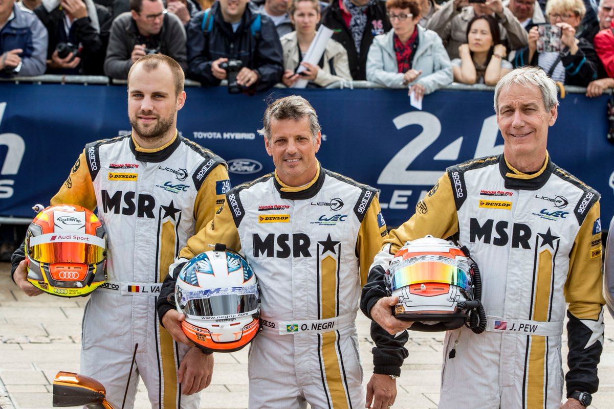 To finish off our @OzzNegri highlights, lets take it back to 2016. 24 Hours of Le Mans start + Petit Le Mans pole & victory on MSRs 250th Prototype start. Listen to the full feature At Speed Podcast: youtube.com/watch?v=Mrf1IL…