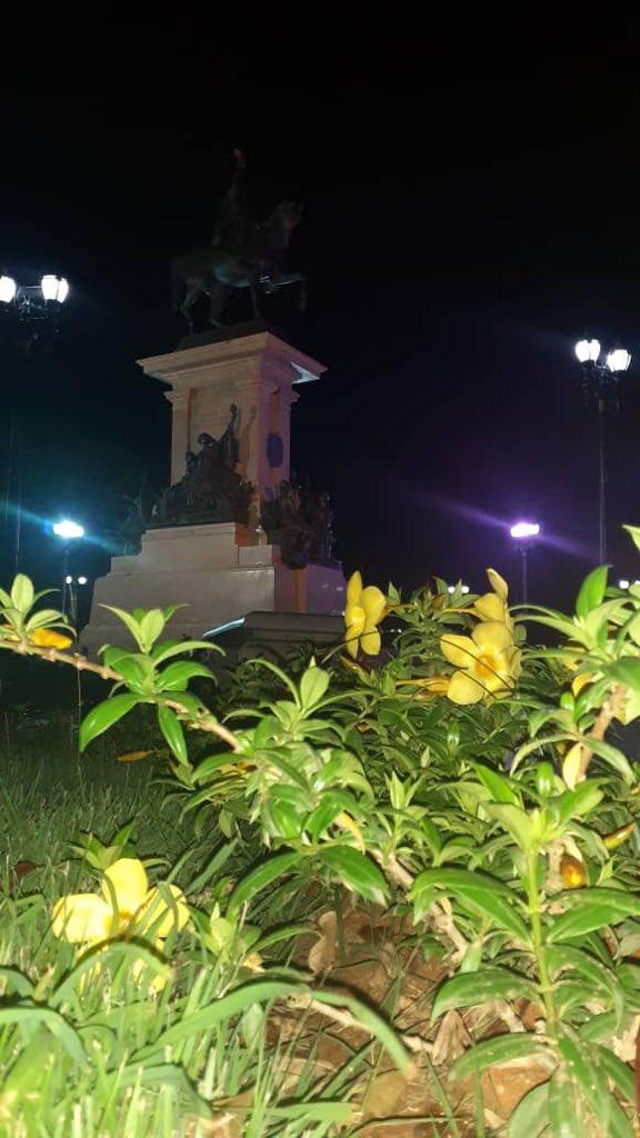 Que alegría siento al ver nuestro parque Ayacucho en óptimas condiciones por instrucción de nuestro alcalde @LuisJonasReyes y la @MVzlaBella hemos logrado cambiar el municipio iribarren @Imaubar @amtteniribarren @prensaredaccion