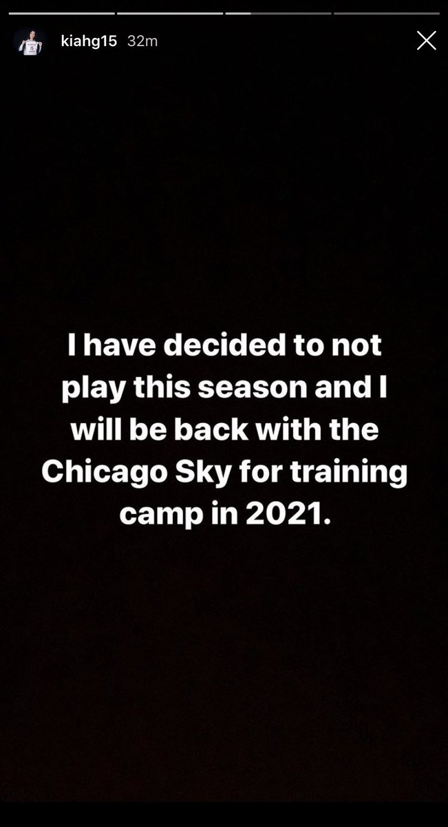 Kiah with a bit more to say and a personal message via the IG story loool  #wnbafreeagency #wnbadraft #skyprospect #skytown https://t.co/0YHTllj3IE