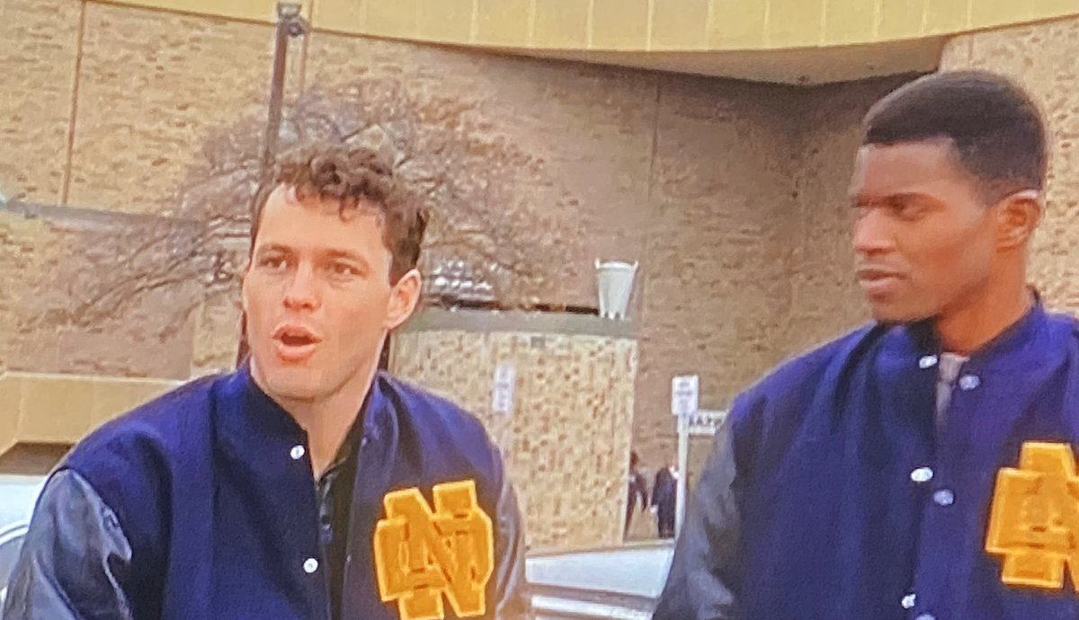 When Vince Vaughn shows up in Rudy it's like Vince Vaughn is in an SNL sketch playing whatever actor played this role in Rudy <br>http://pic.twitter.com/VuK6PnkvRX