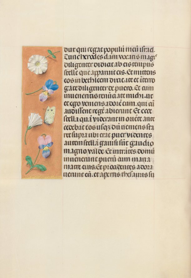Hours of Queen Isabella the Catholic, Queen of Spain: Fol. 95v, Master of the First Prayerbook of Maximillian, c. 1500  #museumarchive #MedievalArt