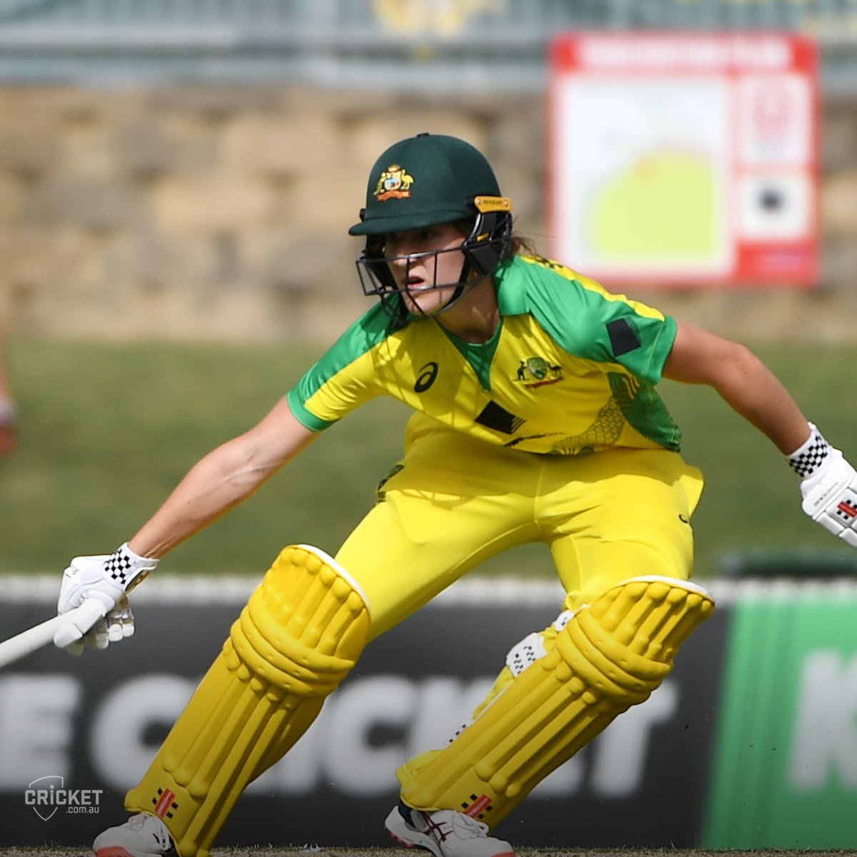 Annabel Sutherlands debut for Australia back in February was a magical moment for the 18-year-old! ✨