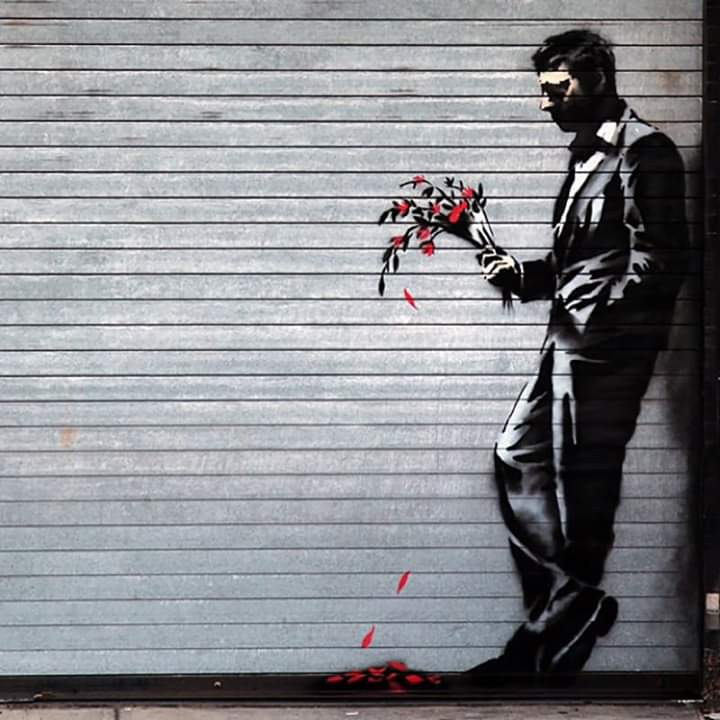#streetart by Banksy in New York pic.twitter.com/0ekovET3ik