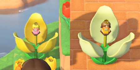 チューリップのビックリばこをリメイクすれば、ピーチ姫、デイジー姫に似たお人形が飛び出します!#あつ森 #あつまれどうぶつの森 Redditより: