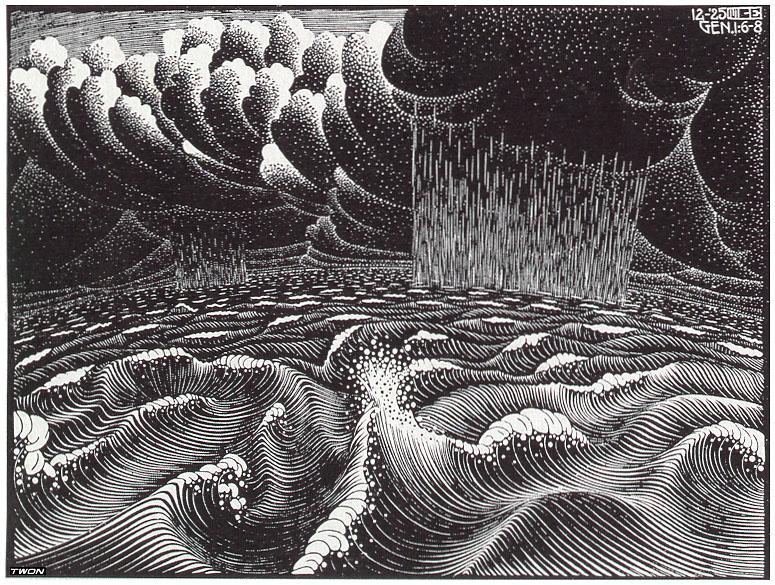 The 2nd Day of the Creation, 1925 #mcescher #surrealism pic.twitter.com/IxuEGyUGq6