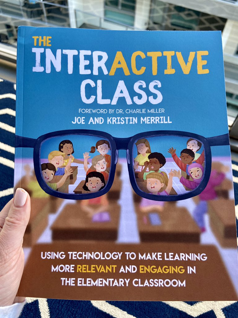 This arrived today 🎉!!! I'm ready for the #interACTIVE book study this summer with @themerrillsedu @MrMerrillsClass @FriendsinFourth