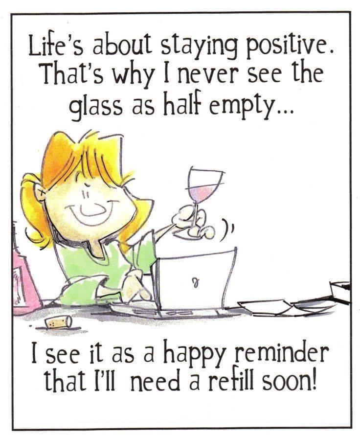 So many refills these days #stayingpositive #TuesdayMotivation #wine #wineloverpic.twitter.com/rrWXutcoTa