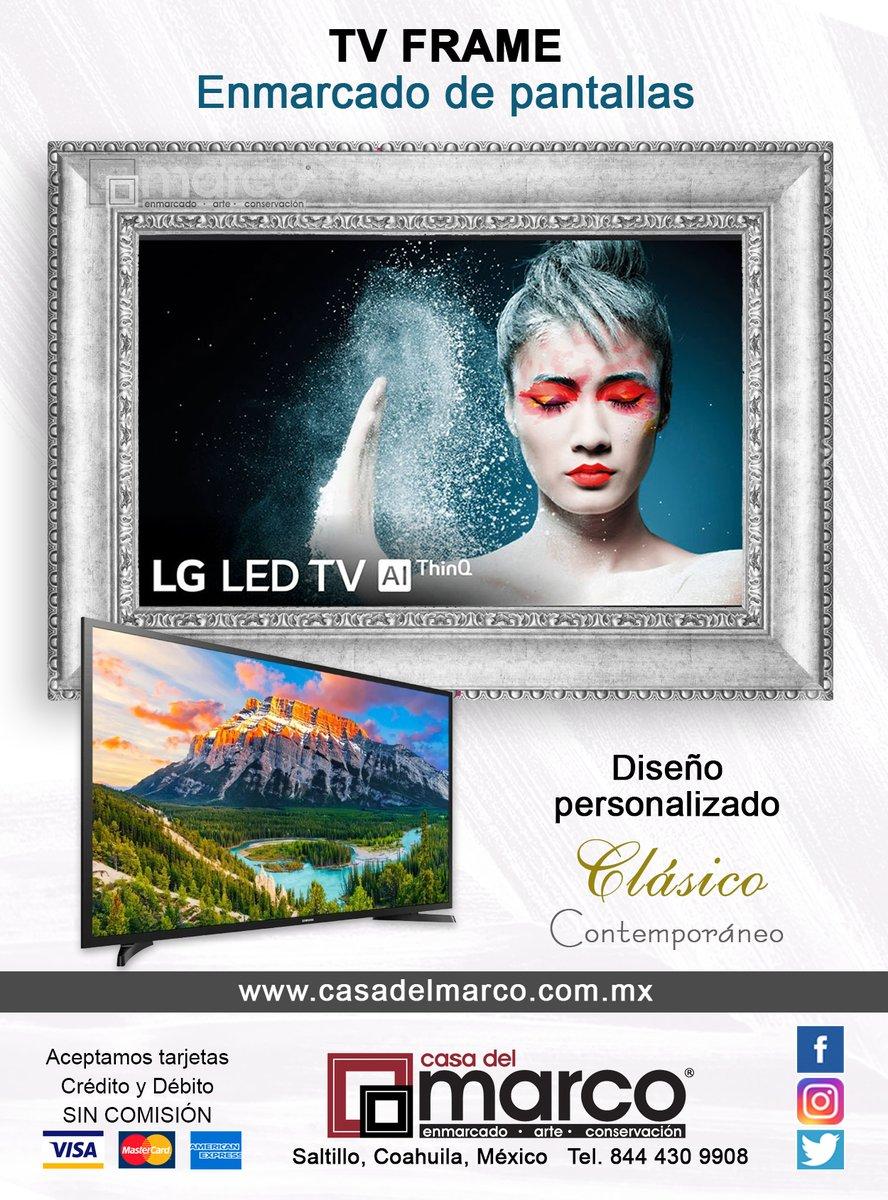 Enmarcado de pantallas con diseño Clásico y Contemporáneo. Ideal para decorar modernos ambientes. . Estamos en #Saltillo.  844.430.9908 http://www.casadelmarco.com.mx . #Espejos #Cuadros #Marcos #Canvas #Jersey #Love #Art #Gallery #Frame #Contempo #Minimalismopic.twitter.com/xifNzBCvLB