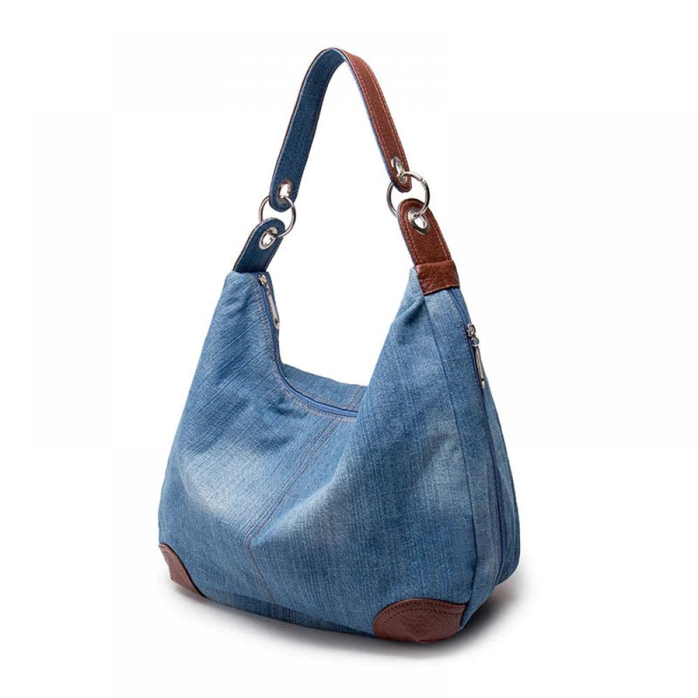 #fashionable #stylish Women's Fashion Denim Hobo Bag pic.twitter.com/tqJq4Y0u4D
