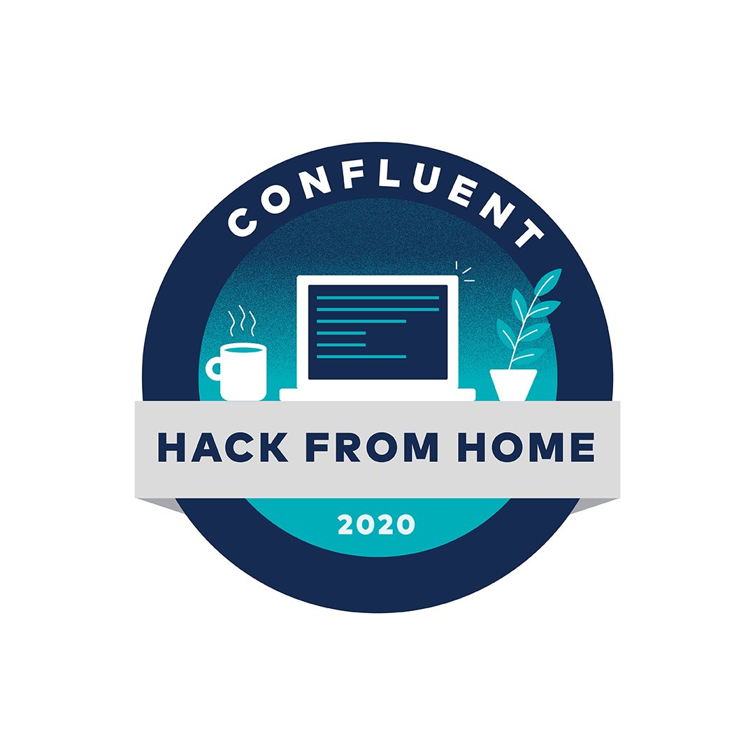 Confluent Hack from Home 2020 logo + pin by @tiffachoi  #confluent #confluentdesignteam #design #designteam #graphicdesign #illustration #illustrator #vector #vectorart #vectorillustration #designspiration #dribbble #dribbblers #logo