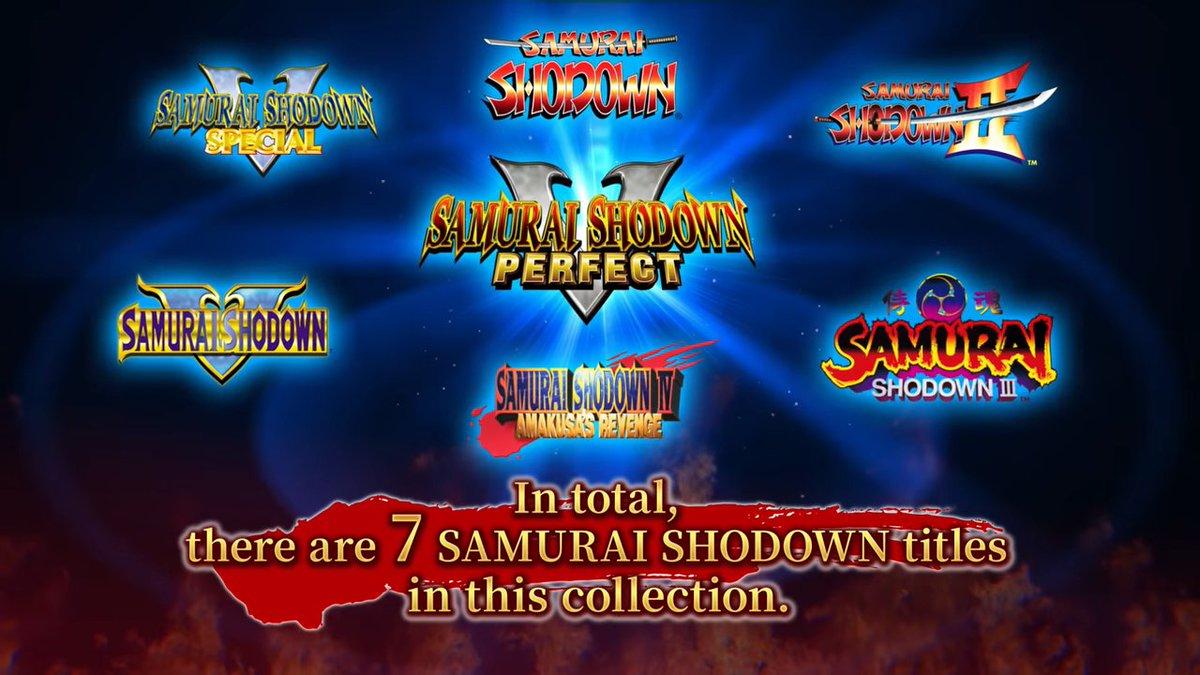 Στις 28 Ιούλη η NeoGeo συλλογή του Samurai Shodown