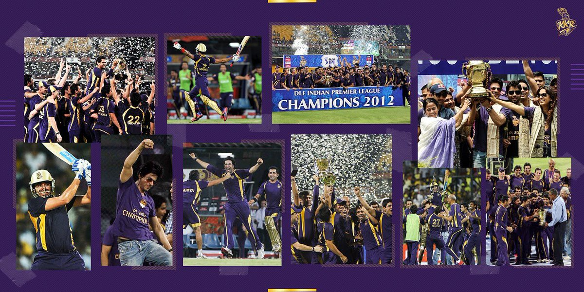 27 May 2012 - A night close to every Knight Rider's   The first  always has too many emotions, too many memories. What's yours  #KKR #IPL #IPL2012  #KorboLorboJeetbo #Champions   @Bisla36 @GautamGambhir @Bazmccullum @SunilPNarine74 @BrettLee_58<br>http://pic.twitter.com/ayRuBNsQ2D