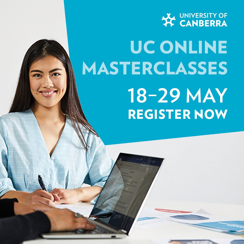 For our last virtual masterclass we have @ProfRossatUC presenting today at 3pm on 🌏 Developing Solutions to the Global Water Crisis in Our Own Backyard. Make sure you register to attend the event! canberra.edu.au/events/Home/Ev… #WeAreUC @UniCanberra @UC_CAWS @IAEUC