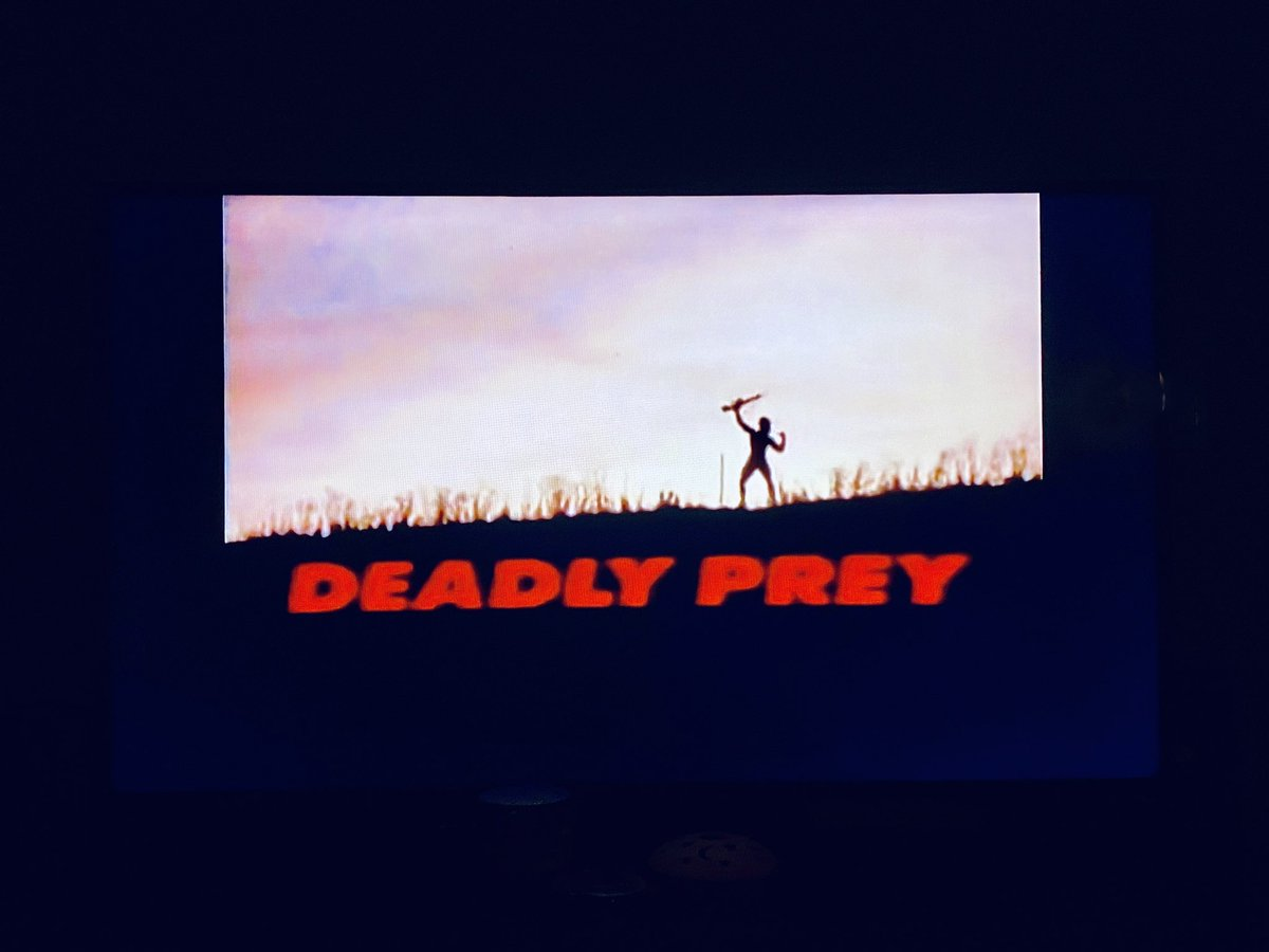 Ahh yes, the classics #deadlyprey https://t.co/wLFbUyMWyf