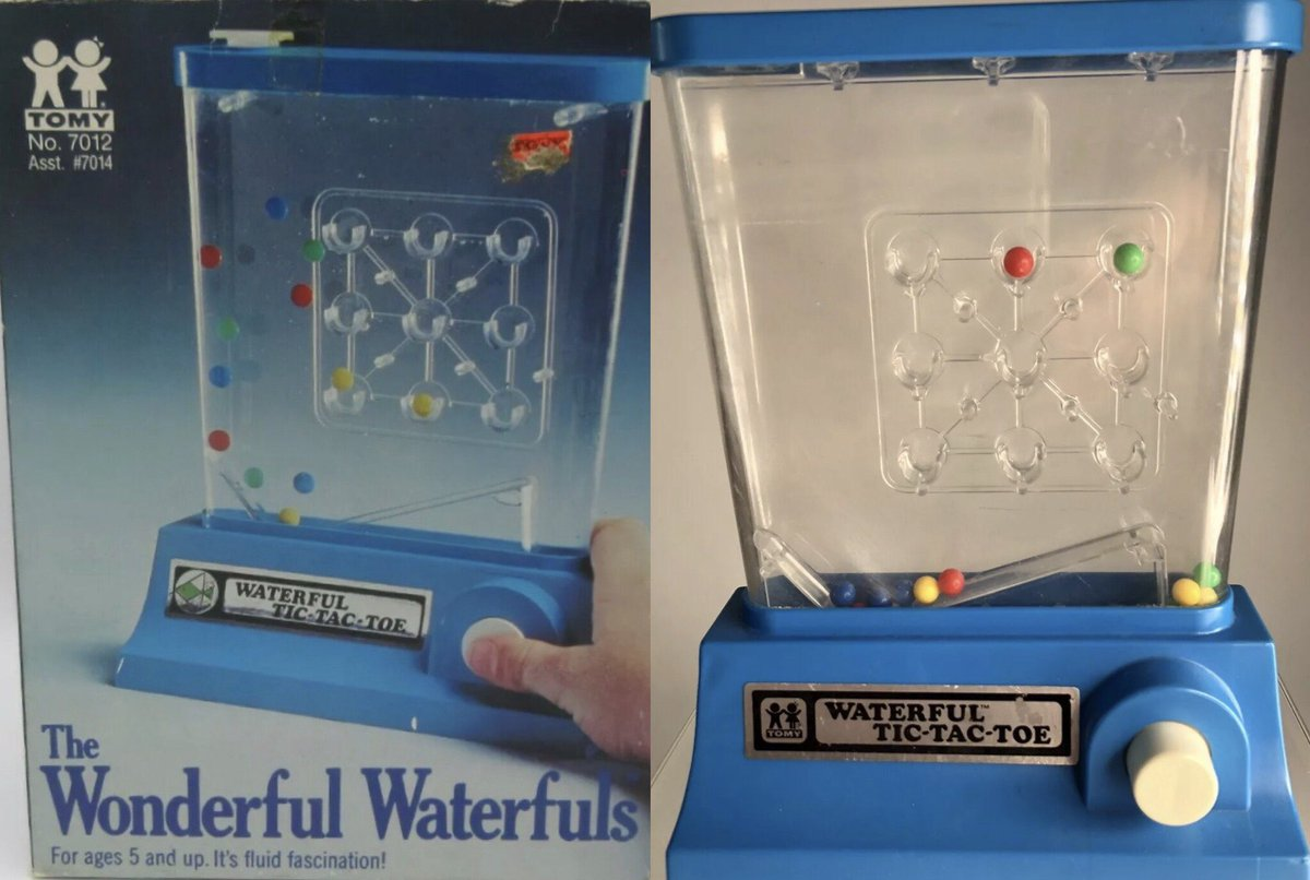 Who Remembers The 1970s/1980s Toy Game Waterfuls?    Just Add Water Then Spend 10 Minutes Yelling at That Last Ring or Ball to Land.  #Waterful #Toys #Toy #Games #Game #Play #Fun #ThrowBack #Nostalgia #Vintage #Childhoodpic.twitter.com/XBlyzvdqNI