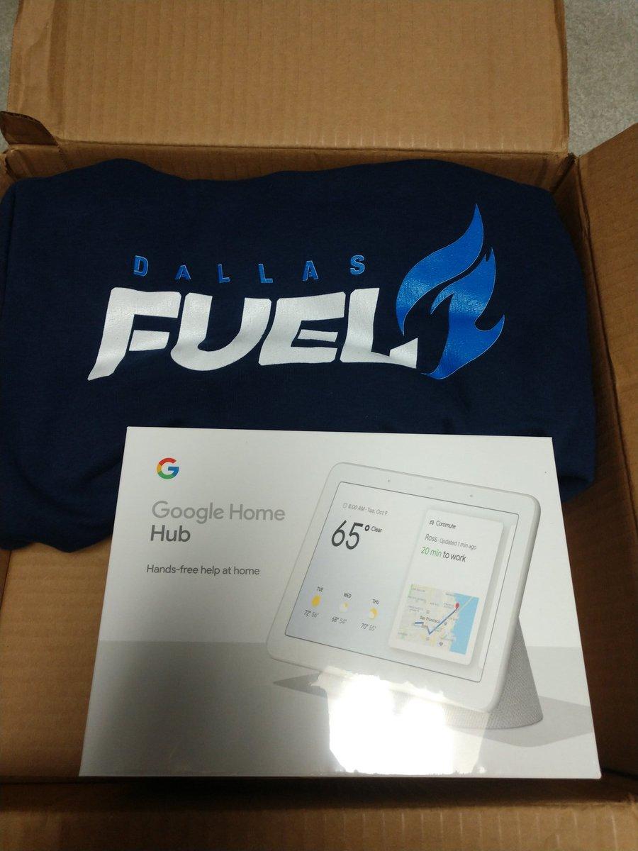 Thank you @DallasFuel! #BurnBlue