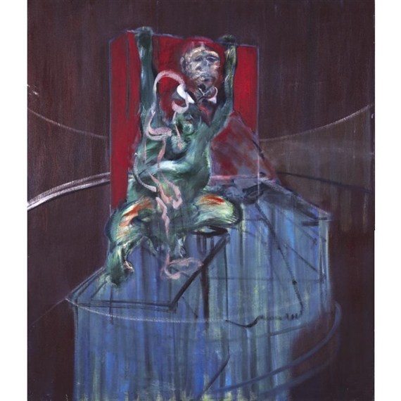 Pope and Chimpanzee, 1962 #francisbacon #bacon pic.twitter.com/pYPkjl9o2U
