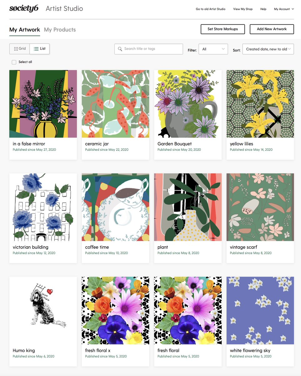 straight from my #society6 Artist Studio ...all patterns available now ...so pls check this website   #surfacedesign #pattern #patterndesign #print #botanic #surfacepattern @society6 @Society6Art #home #room #homedecor #vibe #colors #botanic #flowers