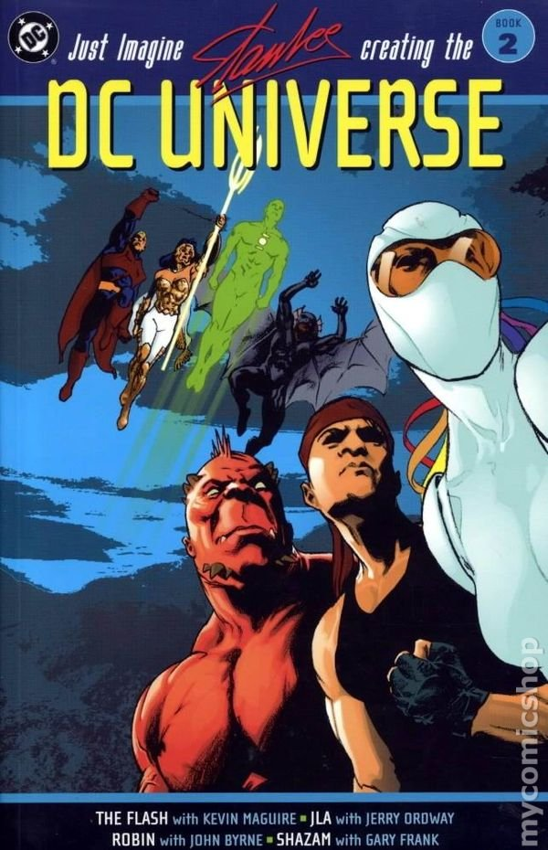 @DCComics @AnimationWarner Since you guys gave us great animated films based on the DC Elseworlds stories Red Son and Gotham By Gaslight, maybe you could please give us animated adaptations of the Just Imagine... series where @TheRealStanLee retold the DC Superheroes?