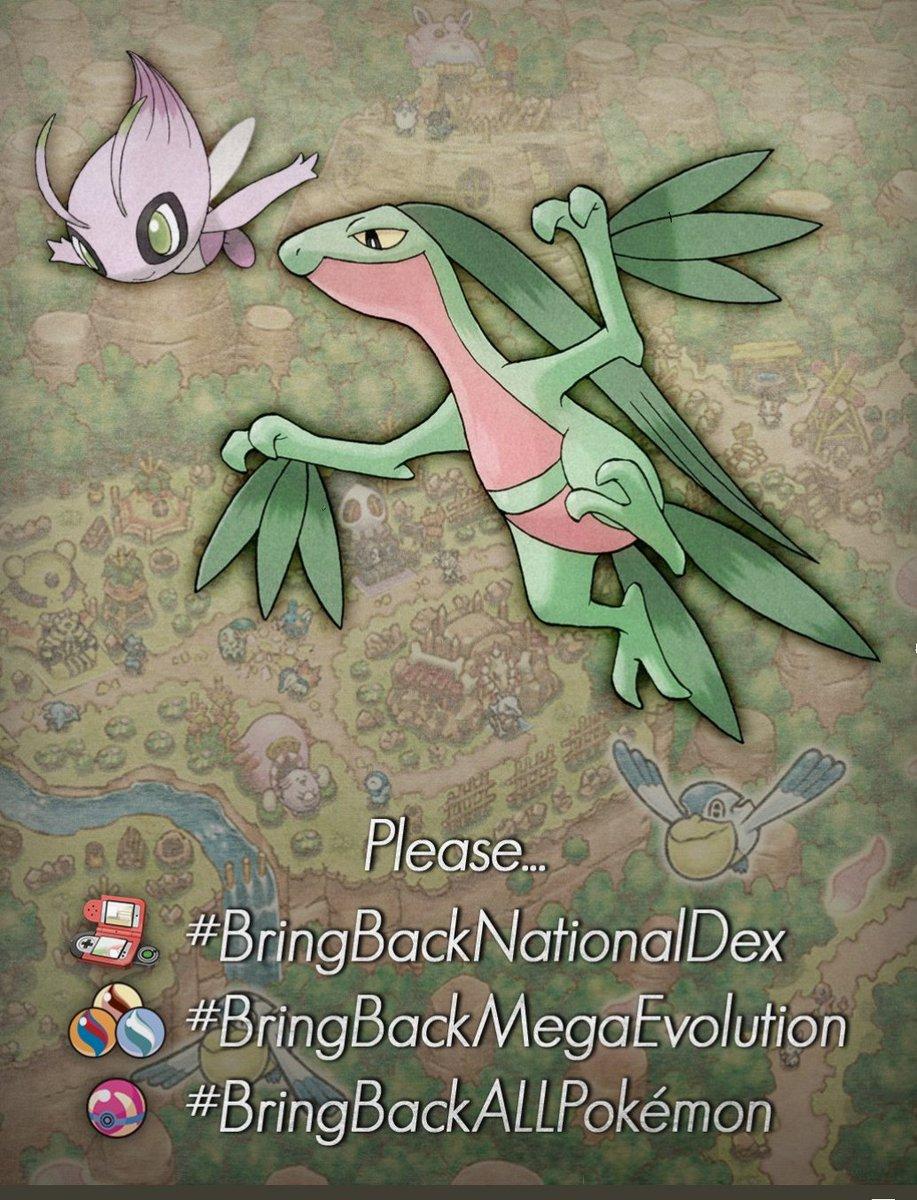 @Pokemon #BringBackNationalDex #BringBackMegaEvolution